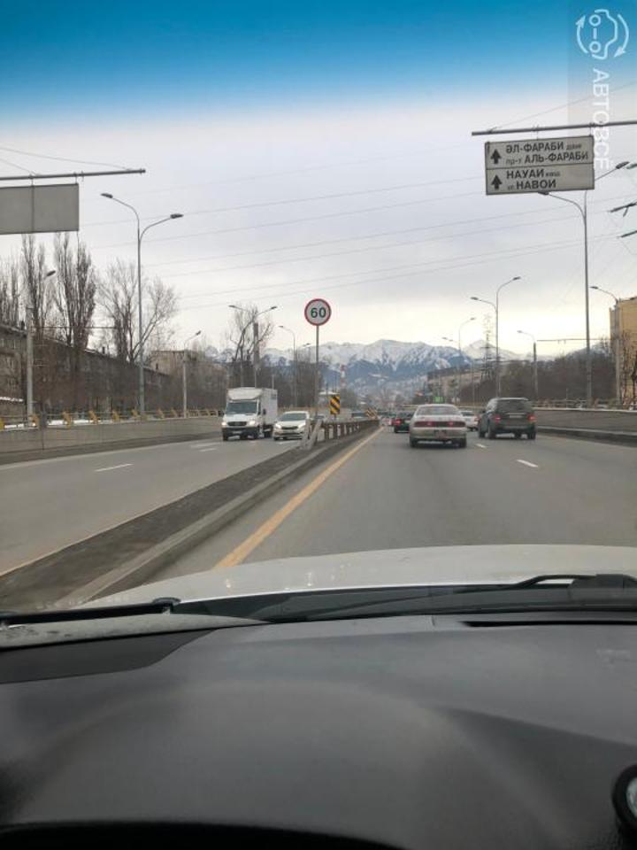 В полиции Алматы напомнили о новом ограничении скорости на Аль-Фараби, Саина и ВОАД