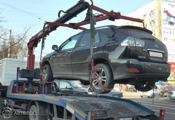 Полиция Алматы вывезет бесхозные автомобили на спецстоянку