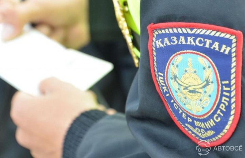 Водитель протащил полицейского на своем авто около 200 метров в Алматы