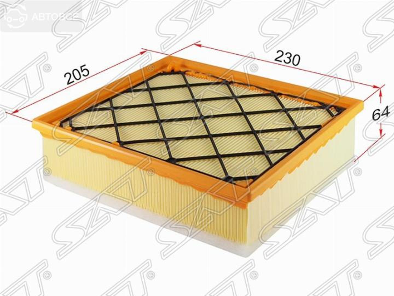 фильтр воздушный ford kuga 2,5 08-10/focus st 05-11/mondeo 07-10/s-max 06-10/
