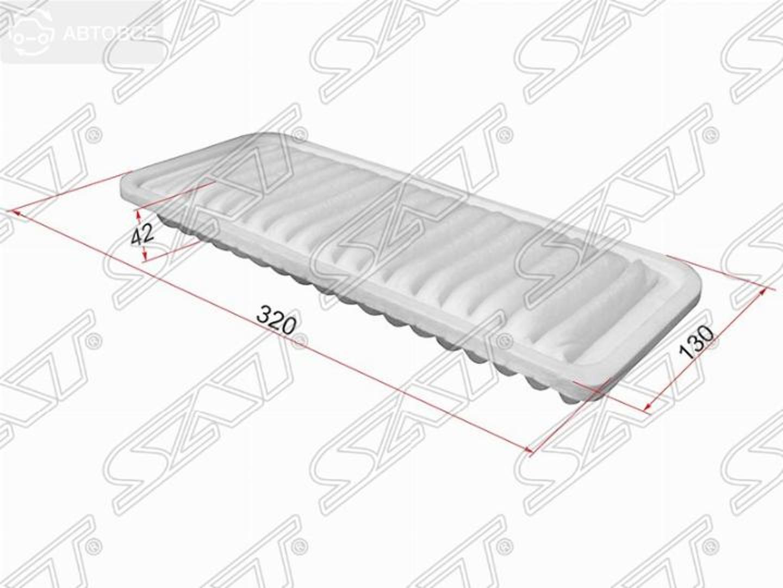 фильтр воздушный toyota passo sette m52e 08-/passo k3ve 06-10/