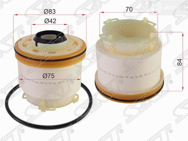 фильтр топливный toyota hilux 1kdftv 12-15/fortuner 12-15/