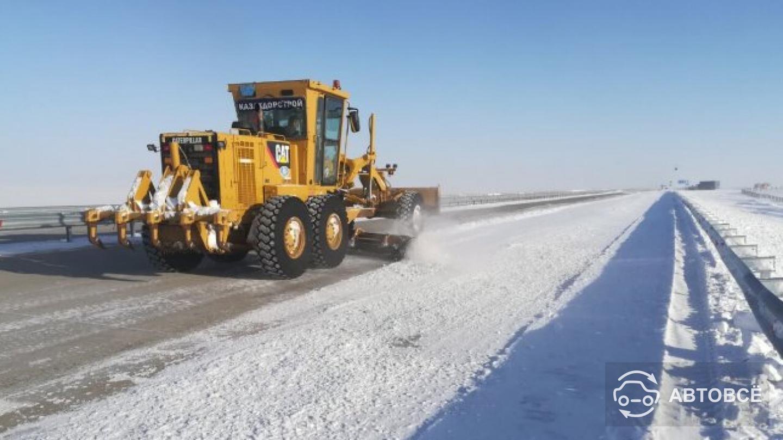 В шести областях Казахстана ограничено движение на автодорогах
