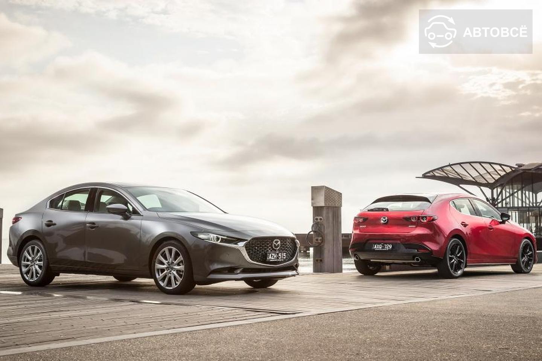 У Mazda3 появится мощная версия с турбомотором и полным приводом