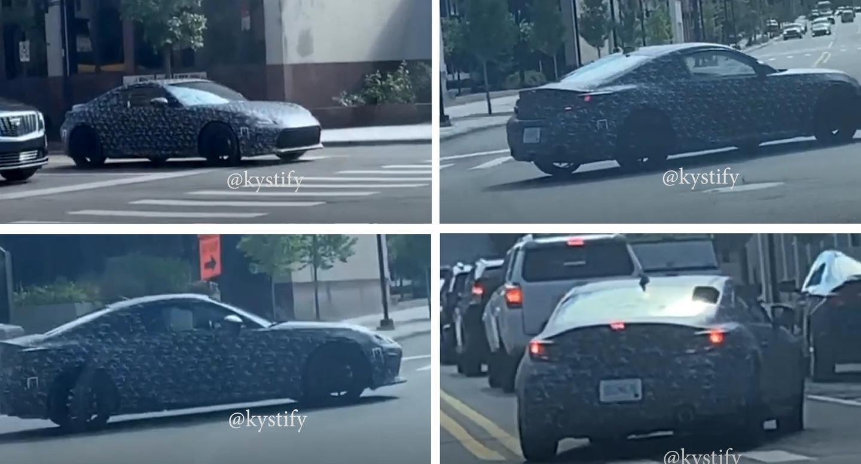 Новый спорткар Toyota впервые заметили на дорогах
